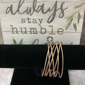 Gold-tone Cuff Bracelet
